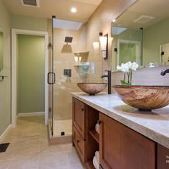 Yoko Oda Interior Design - Zen Bathroom - Interior 9:  Badezimmer von Chibi Moku