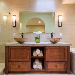 Yoko Oda Interior Design - Zen Bathroom - Interior 10:  Badezimmer von Chibi Moku