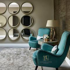 الممر والمدخل تنفيذ Tailored Living Interiors