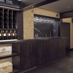 Custom Wine Cellar Display:  Wine cellar by Vinomagna - Bespoke Wine cellars