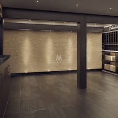 Custom Wine Cellar Display:  Wine cellar by Vinomagna - Bespoke Wine cellars