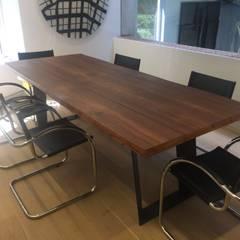 Proyecto El Rosal.: Comedores de estilo  por THE muebles