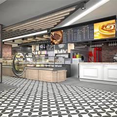 Murat Aksel Architecture – Sivas / amade restaurant cafe: kırsal tarz tarz Yemek Odası