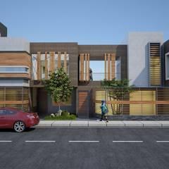 VIVIENDA : Casas de estilo  por diseño integral y construcción sac,
