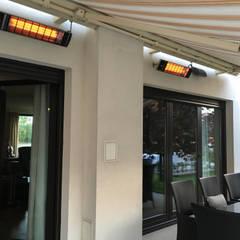 Promienniki ciepła - taras Klasyczny balkon, taras i weranda od Technomac Klasyczny