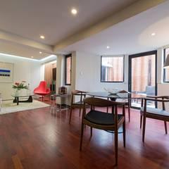 Apartamento 8E: Comedores de estilo  por Objetos DAC