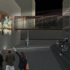 Centro de Convivência Cine São Pedro: Centros de exposições  por KC ARQUITETURA urbanismo e design