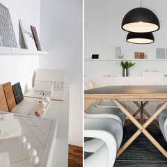 Materialboard:  Bürogebäude von qbus architektur  & innenarchitektur