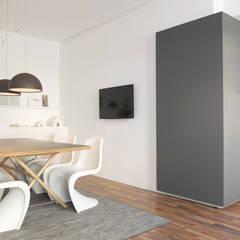 Küchenbox:  Bürogebäude von qbus architektur  & innenarchitektur