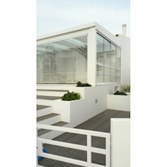 PROJETO DE REMODELAÇÃO DE EXTERIORES: Jardins de Inverno  por all Design  [Arquitectura e Design de Interiores]