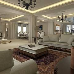 اتاق نشیمن توسطhomify, کلاسیک