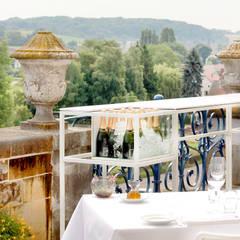 Champagnebar Château Neercanne:  Gastronomie door De Nieuwe Context