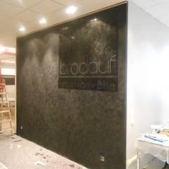Spachteltechnik:  Multimedia-Raum von Malereibetrieb Kauroff GmbH