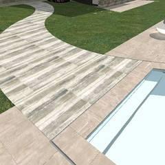 Piscina privata: Piscina in stile  di Alessandra Vellata Architetto