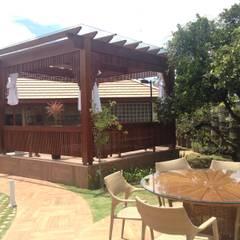 Casa em São Roque: Spas  por RMS arquitetura e interiores