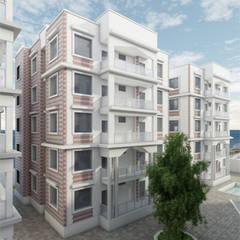 Resort Dar Es Salaam: Hotel in stile  di AMAART architects
