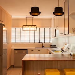 House B - House Design :  Kitchen by Redesign Interiors