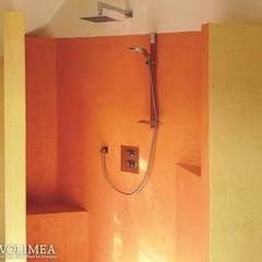 Diese Dusche bereichert ein fugenloses Bad:  Spa von Volimea GmbH & Cie KG
