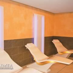 Ruheraum im Spa mit Wandbeschichtungen für gesundes Klima:  Spa von Volimea GmbH & Cie KG