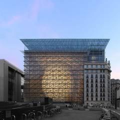 Siège du Conseil Européen et du Conseil de l'Union Européenne: Palais des congrès de style  par Philippe SAMYN and PARTNERS, architects & engineers