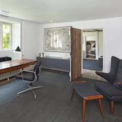 Stones Farm:  Study/office by My-Studio Ltd