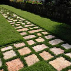 Garden by Arte Pietra, Rustic Stone