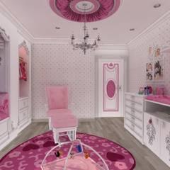 Altuncu İç Mimari Dekorasyon – Bebek Odası: klasik tarz tarz Çocuk Odası