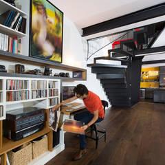 JUST'IN: Maisons de style de style eclectique par Florence Gaudin architecte
