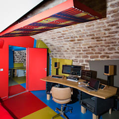 PRADO BIS: Bureaux de style  par Florence Gaudin architecte