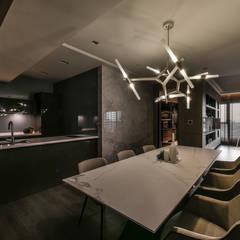 غرفة السفرة تنفيذ CJ INTERIOR 長景國際設計