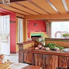 Casa Camet Norte: Cocinas de estilo  por Susana Bellotti Arquitectos, Rural