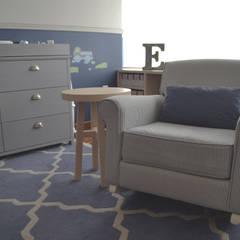 Cuarto Emiliano: Recámaras para bebés de estilo  por CuboB Arquitectura de Interiores