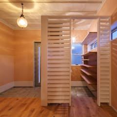 HOUSE-04(renovation): dwarfが手掛けた廊下 & 玄関です。