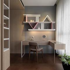 Chambre d'enfant de style  par DYD INTERIOR大漾帝國際室內裝修有限公司