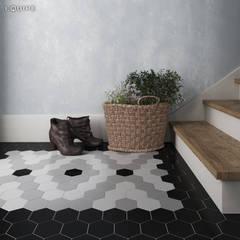Corridor and hallway by Equipe Ceramicas