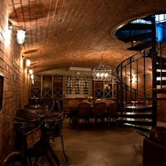 Beautiful Gowrie Farm:  Wine cellar by Walker Smith Architects,