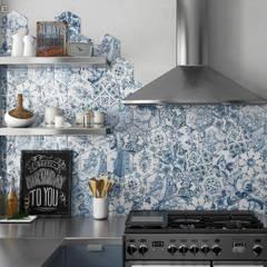 Hexatile: Cocinas de estilo  de Equipe Ceramicas
