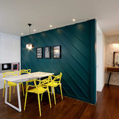 غرفة السفرة تنفيذ 디자인투플라이