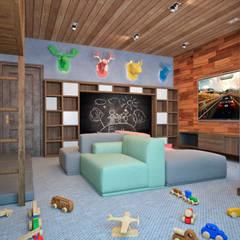 غرفة الاطفال تنفيذ Архитектура Интерьера