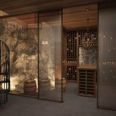 Hầm rượu by Архитектура Интерьера