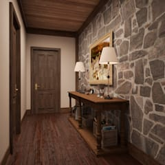 Дом с видом на Кавказские горы: Коридор и прихожая в . Автор – Архитектура Интерьера,