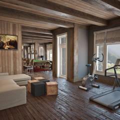 Fitnessraum von Архитектура Интерьера