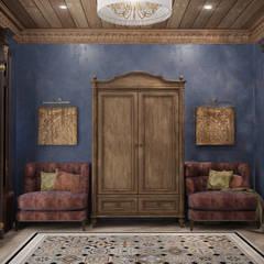 Дом с видом на Кавказские горы: Коридор и прихожая в . Автор – Архитектура Интерьера
