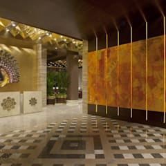 GVK Lounge by TFS Performa (First Class at Terminal 2, Mumbai):  Airports by ABM ARCHITECTS