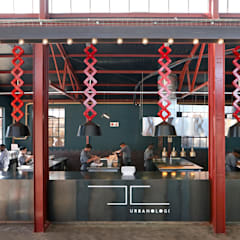 Mad Giant brewery and restaurant:  Gastronomy by Haldane Martin Iconic Design, Industrial Aluminium/Zinc