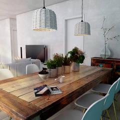 Ruang Makan oleh Studio Frasson