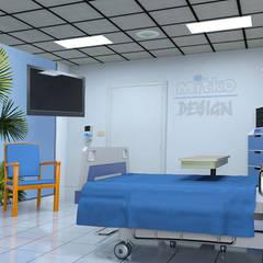 Versetzen Sie den Patienten in die Karibik in seinen Krankenzimmer. :  Krankenhäuser von Mitko Design