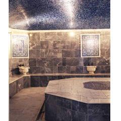 Aykuthall Architectural Interiors – Turkish hammam: asyatik tarz tarz Spa