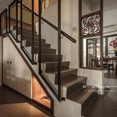 大不列顛空間感室內裝修設計:  tarz Koridor ve Hol