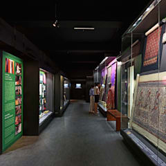 CSMVS MUSEUM, MUMBAI :  Walls by Somaya and Kalappa Consultants ,